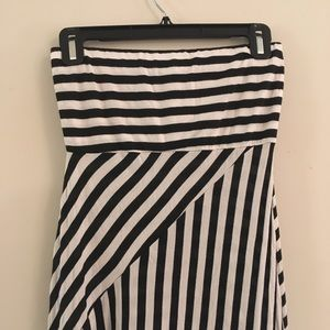 Wet Seal strapless maxi Dress